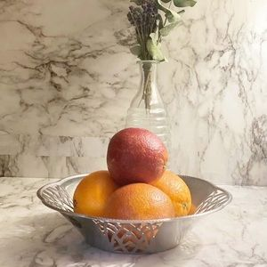 Alessi Stainless Steel Fruit Bowl